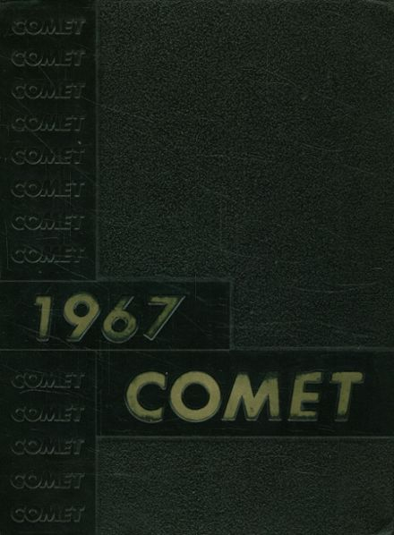 1967 Granby High School Yearbook Cover