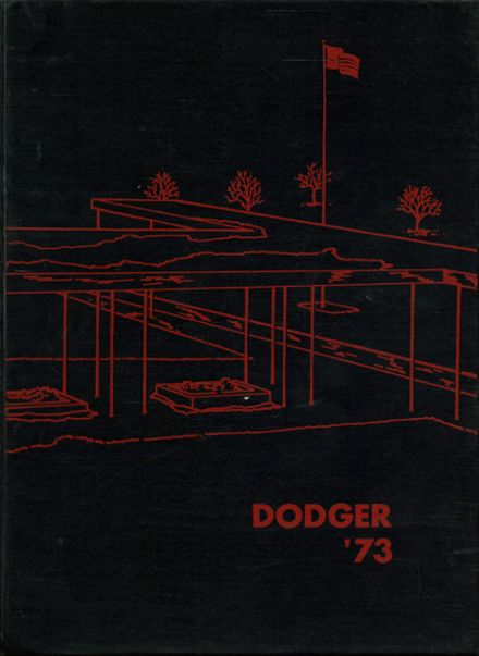 1973 Ft. Dodge High School Yearbook Cover