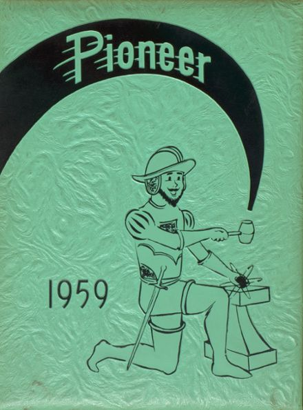 1959 San Gabriel Mission High School Yearbook Cover