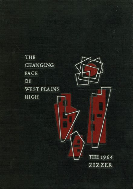 1964 West Plains High School Yearbook Cover