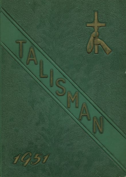 1951 Bishop Timon High School Yearbook Cover