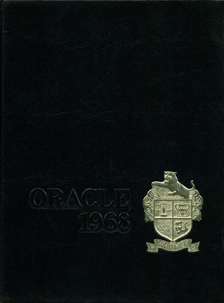 1968 Whitmer High School Yearbook Cover