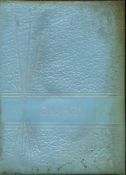 1960 Bellville High School Yearbook Cover