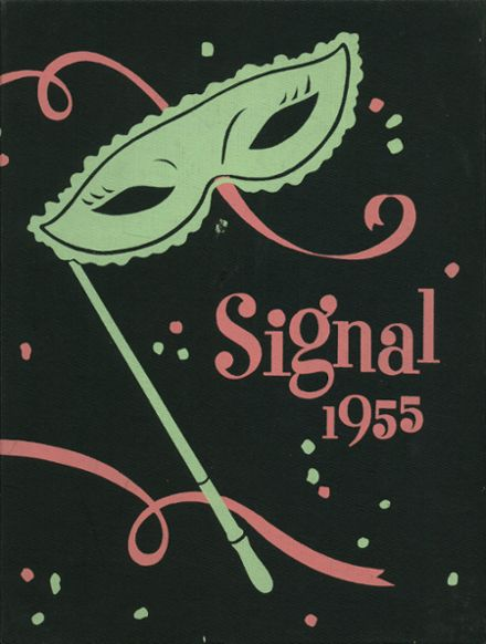 1955 Norwalk High School Yearbook Cover