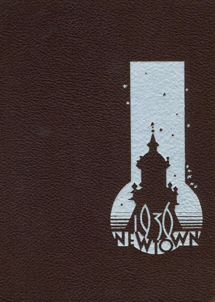 1936 Newtown High School Yearbook Cover