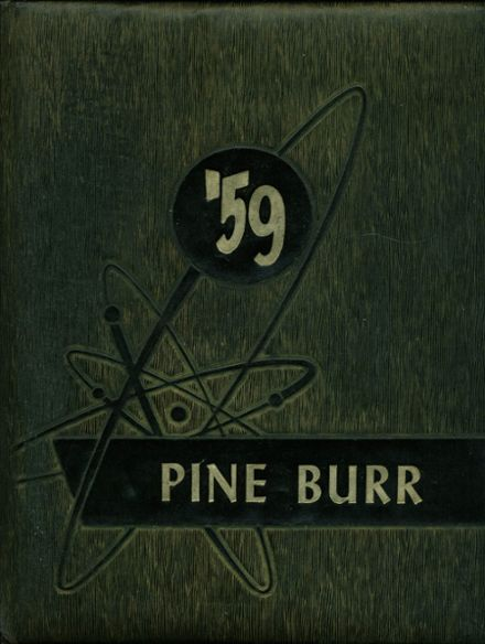 1959 Weiser High School Yearbook Cover
