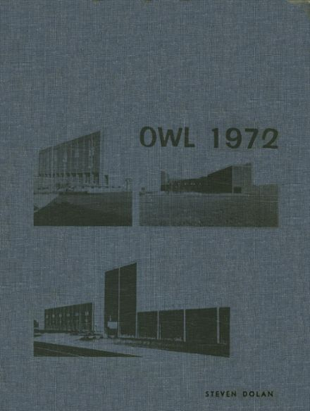 1972 Westminster High School Yearbook Cover