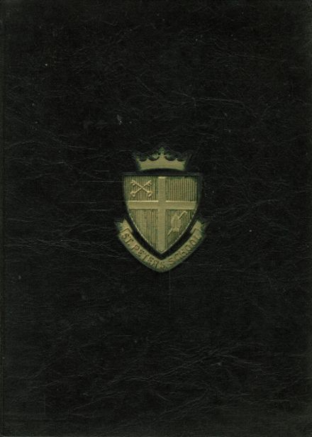 1959 St. Peter's School for Boys Yearbook Cover