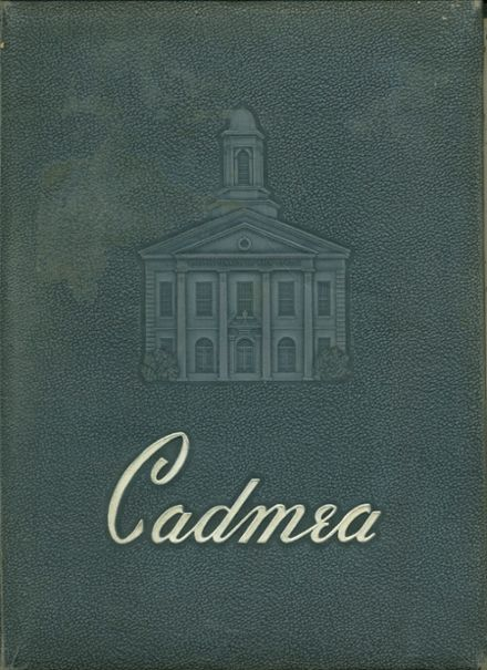1955 Tennessee High School Yearbook Cover