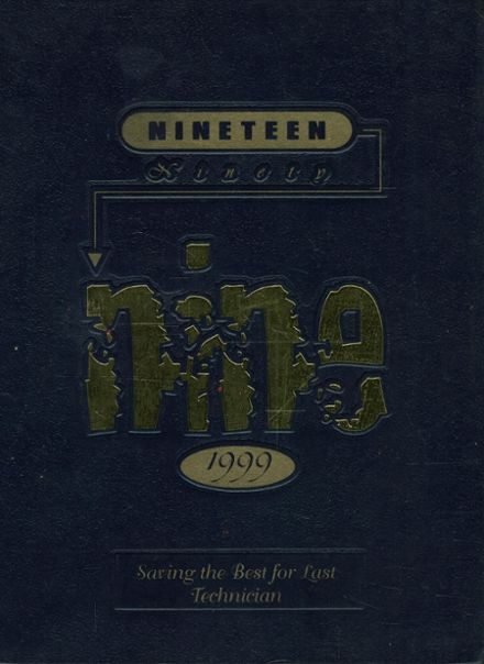 1999 Chicago Vocational Yearbook Cover