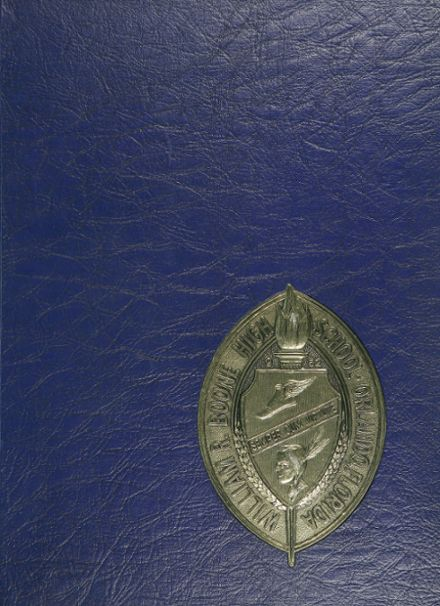 1970 Boone High School Yearbook Cover
