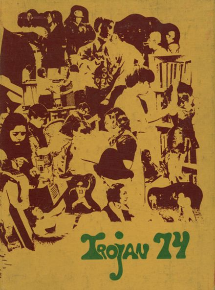 1974 Bandys High School Yearbook Cover