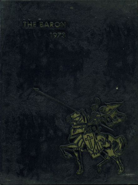1973 Amelia High School Yearbook Cover