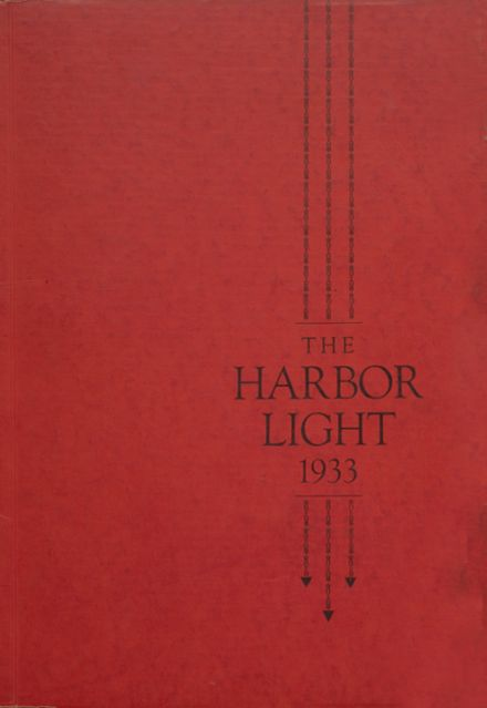 1933 Harding High School Yearbook Cover