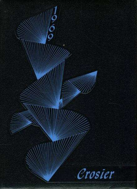 1969 Bishop's Latin School Yearbook Cover