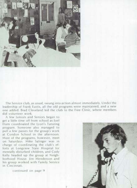 1973 Cincinnati Country Day Yearbook Page 9
