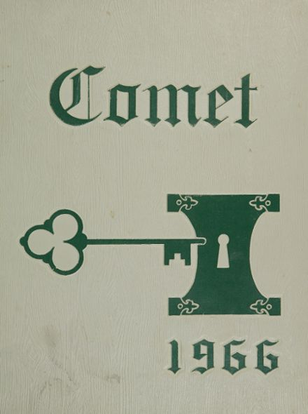1966 Cody High School Yearbook Cover