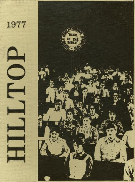 1977 God's Bible School Yearbook Cover
