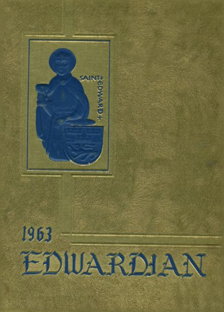 1963 St. Edward's High School Yearbook Cover