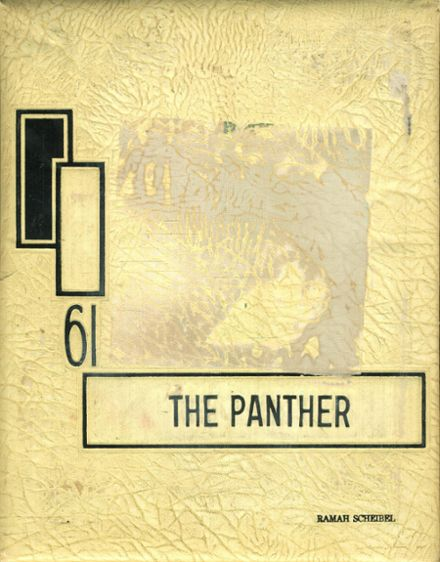 1961 O'Fallon Township High School Yearbook Cover