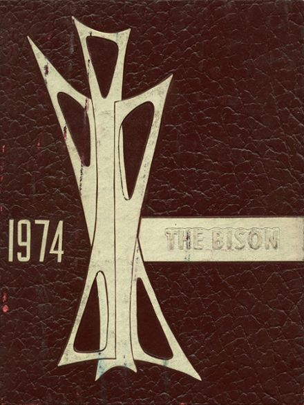 1974 Clearfield Area High School Yearbook Cover