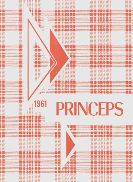1961 Princeton High School Yearbook Cover