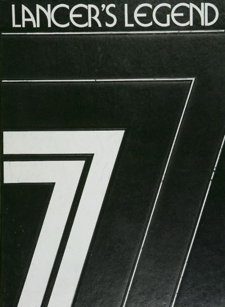 1977 Lafayette High School Yearbook Cover