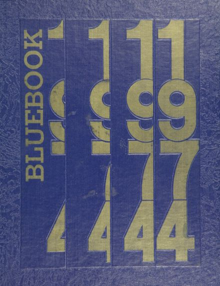 1974 Kenwood High School Yearbook Cover