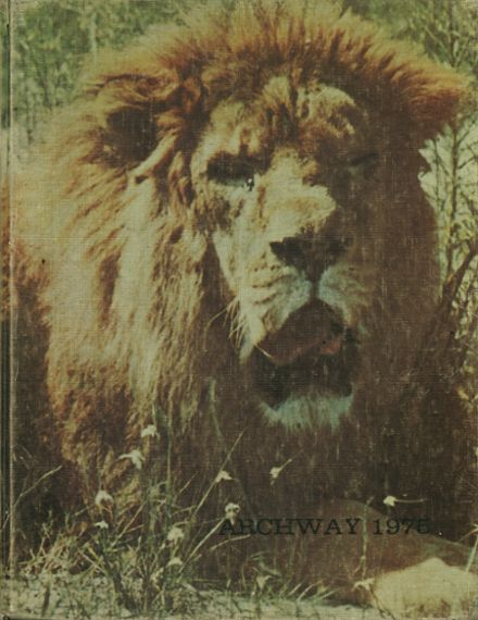 1975 Richmond Hill High School Yearbook Cover