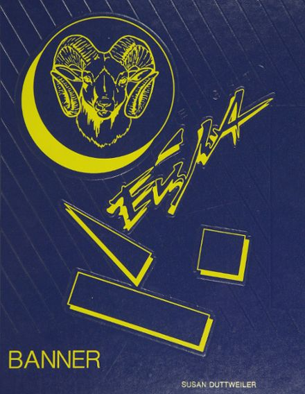 1988 Rockville High School Yearbook Cover
