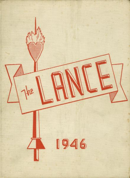 1946 St. Catherine's High School Yearbook Cover