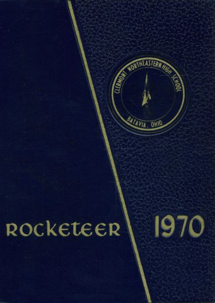 1970 Clermont Northeastern High School Yearbook Cover