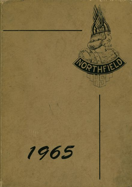 1965 Northfield High School Yearbook Cover