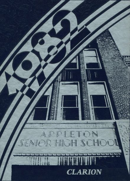 1982 Appleton West High School Yearbook Cover