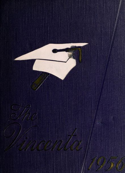 1956 St. Vincent's High School Yearbook Cover