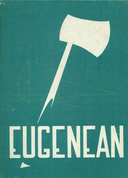1956 Eugene High School Yearbook Cover