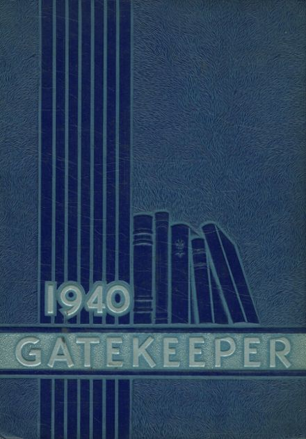 1940 St. Peter's High School Yearbook Cover