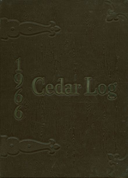 1966 Cedar Crest High School Yearbook Cover