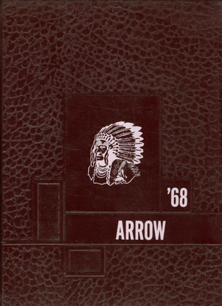 1968 Matoaca High School Yearbook Cover