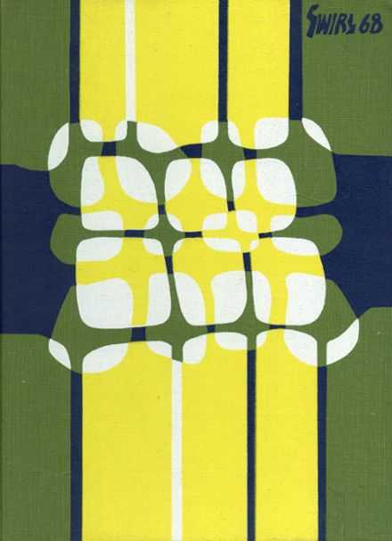 1968 Dover High School Yearbook Cover