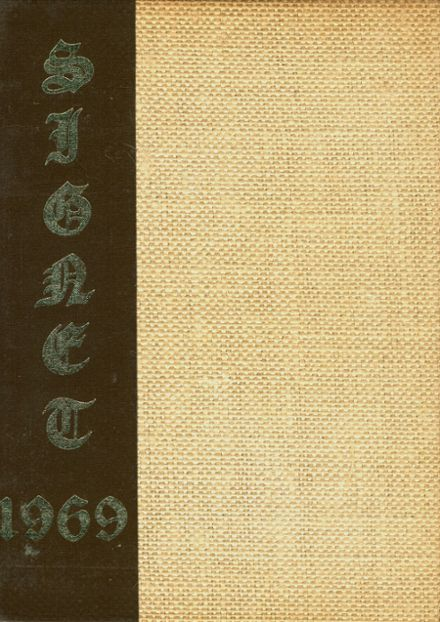 1969 Mineola High School Yearbook Cover