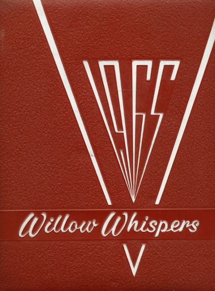 1965 Willow Run High School Yearbook Cover