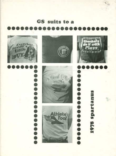 1978 Garden Spot High School Yearbook Cover
