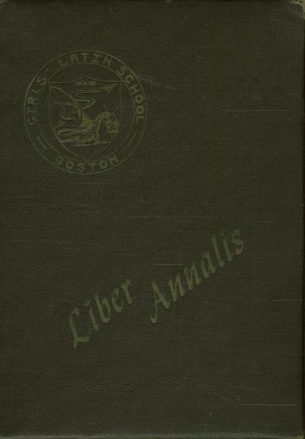 1949 Girls' Latin School Yearbook Cover
