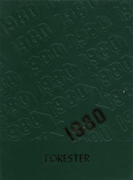 1980 Forest Hills High School Yearbook Cover