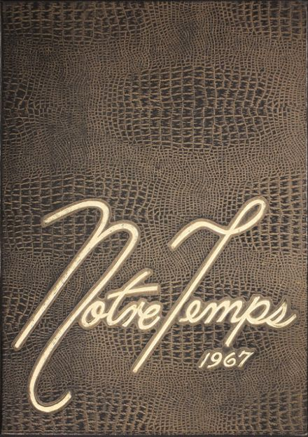 1967 South Terrebonne High School Yearbook Cover