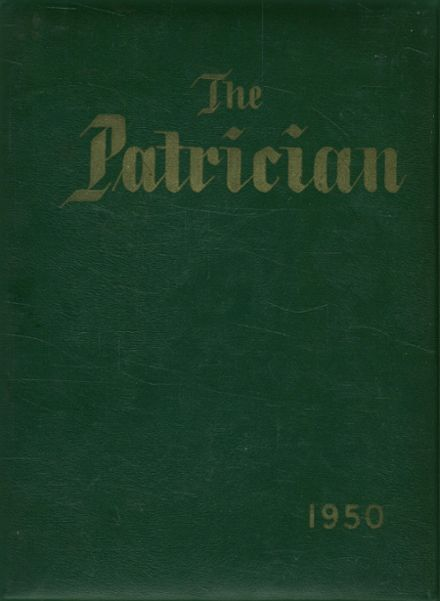 1950 St. Patrick's High School Yearbook Cover