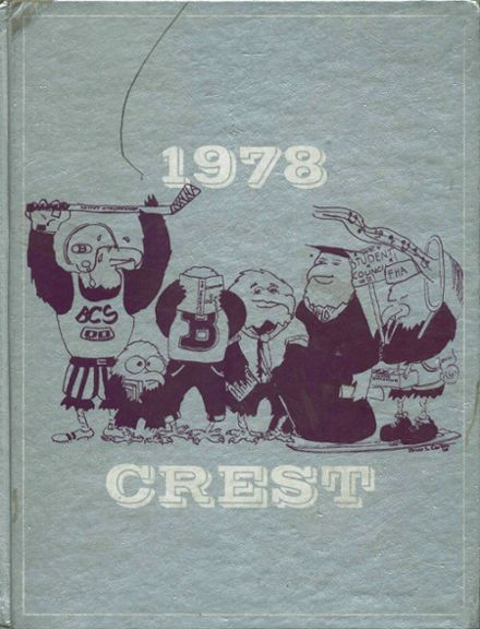 1978 Beekmantown Central School Yearbook Cover