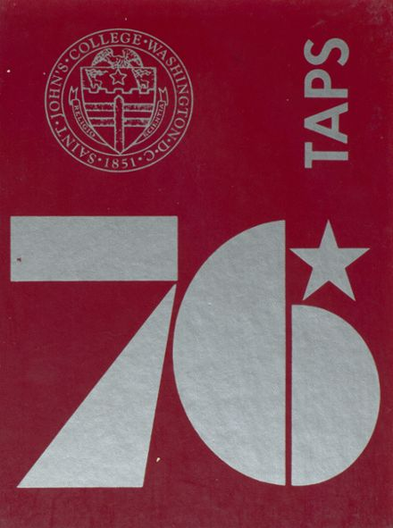 1976 St. John's College High School Yearbook Cover