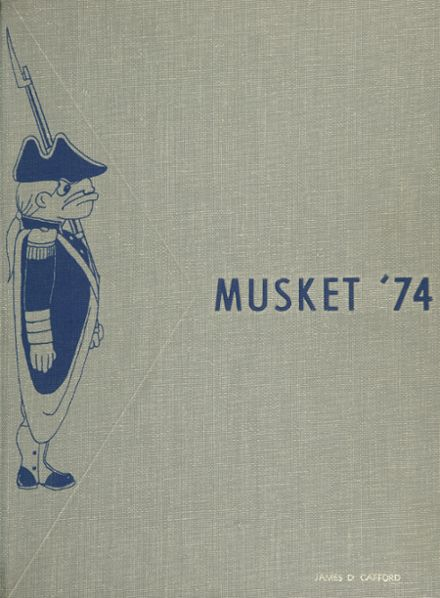 1974 Great Valley High School Yearbook Cover